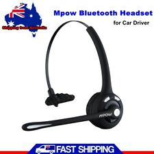 Mpow Pro Bluetooth Headset For Car/Truck Driver Wireless Headphones With Mic AU