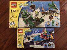 2 NEW Lego SpongeBob 3815 & 3817 , SEALED!