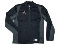 Nike Air Jordan Mens Dri-Fit Flight Knit Full Zip Jacket Black 924707 010 New