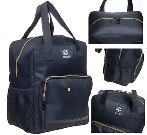 Adults/Mens Lunch Box JCB Cool Bag Lunch Bag Thermal Insulated Cool Box Bag UK