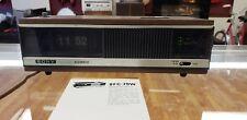 SONY Flip Clock Radio Digimatic Alarm Clock FM/AM Vtg Model 8FC-79W Manual