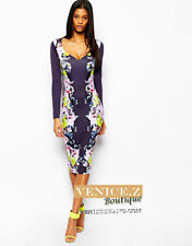 Cocktail Stretch, Bodycon Floral ASOS for Women