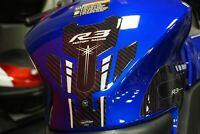 Kit Adesivi gel 3D Protezioni Serbatoio moto compatibili Yamaha YZF R3 2019-2020