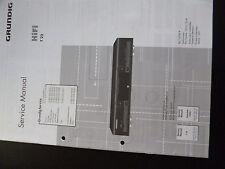 Original Grundig Service Manual    Hifi T 22