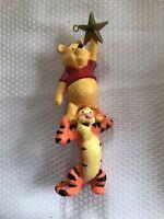 Hallmark Winnie The Pooh and Tigger Christmas Ornament