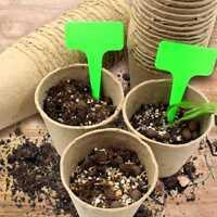 "3"" Peat Pots Plant Seed Starters Kits,Seedling Pots Tray Organic Biodegradable"