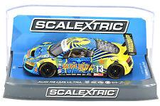 "Scalextric ""Rum Bum"" Audi R8 LMS Ultra DPR W/ Lights 1/32 Scale Slot Car C3854"