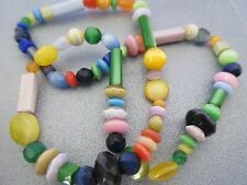 Multi Cat's Eye Mixed Shapes Beads 14 inches