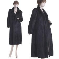 ON SALE! Mint! Forever Fashionable Black Mahogany Female Mink Fur Coat