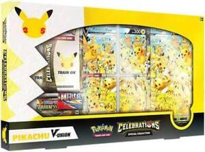 Pokemon TCG: Celebrations Special Collection - Pikachu V-Union Pre-Order 8/10