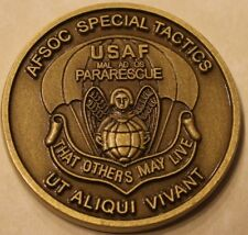 Military Challenge Coin United States Air Force AFSOC Special Tactics Pararescue