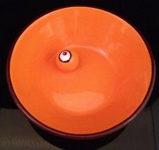 Starbucks Halloween Eye Ball Eyeball Orange Bowl Candy Snack Treat Dish 8.5""