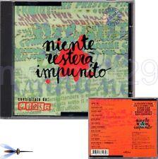 NIENTE RESTERA' IMPUNITO CD SIGILLATO ELIO WANNA MARCHI HEATHER PARISI EQUIPE 84