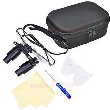 Black 6.5X 500mm Dental surgical Binocular Loupes Optical glasse Lens Magnifier