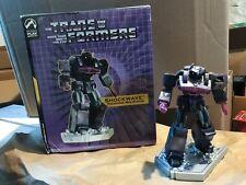 "Palisades Transformers SHOCKWAVE polystone 6"" mini statue Generation 1"