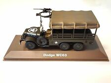 DODGE WC63 AMBULANCE MILITAIRE ATLAS 1/43 SECONDE GUERRE MONDIALE TANK CHAR 16