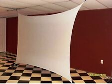 STRETCH SCREEN, BACKDROP, 7'X5' (corner to corner), FRONT/REAR PROJECTION
