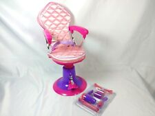 Click n' Play Doll Salon Chair & Accessories for 18 inch American Girl Dolls