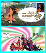 Disney Villains The Lion King, Sear First Day Cover with Color Cancel