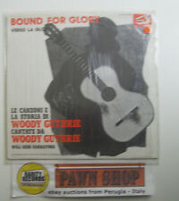 "Woody Guthrie ""Bound for glory"" LP ALBATROS VPA 8246 Italy 1975 VG/VG+"