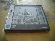 >> FINAL FANTASY III 3 ULTIMATE HITE NINTENDO DS JAPAN IMPORT NEW OLD STOCK! <<