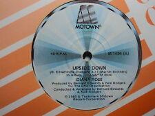 """Diana Ross """"Upside Down"""" Very Rare Oz 7"""""""