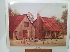 BETH CUMMINGS LITHOGRAPH SPILT MILK 286 OUT OF 500 NEW SEALED SIGNED  AMERICAN