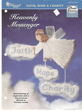 The Needlecraft Shop - Heavenly Messenger Ornament Plastic Canvas Pattern