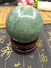 100% Natural Green Lushan Jade Aventurine CRYSTAL BALL SPHERE 50MM-55MM + STAND