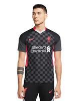 Nike 2020-2021 Liverpool Soccer Vaporknit Third Jersey Sz Large CZ3200-060 $165