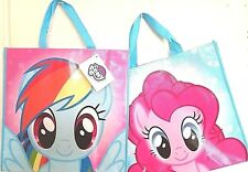 MY LITTLE PONY VERY CUTE PINKIE PIE/RAINBOW DASH TOTE BAG REUSABLE SHOPPING BAG.