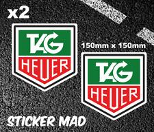 TAG HEUER  Large Stickers High Quality 150mm F1 Classic McLAREN Ferrari Lotus