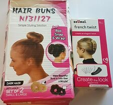 Hair Buns & French Twist Hair Styling Tools Solutions Pack
