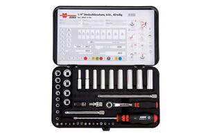 "Wurth Zebra Genuine 1/4"" socket wrench assortment, 14 PC Tool Set Kit Mechanic"
