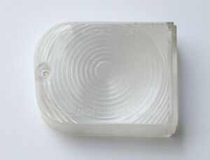 Genuine NOS Lucas L630 RH Clear Lens, for Morris Oxford Austin A55 etc, 54570320
