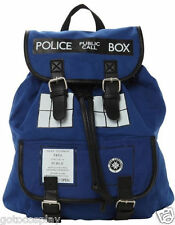 Doctor Who Tardis Buckle Slouch Bag Purse Dr Who POLICE BOX Backpack
