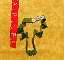 """Palm Tree,Tropical, Metal Cookie Cutter,Green,3.5"""",Coated Metal,OTBP,Islands"""