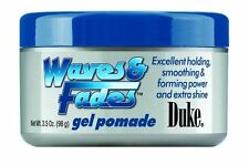 Duke Waves - Fades Gel Pomade, 3.5 oz (Pack of 2)