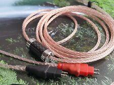 OCC ULTIMATE Sennheiser HD650 HD600 HD580 Cable TF Viablue Gold 6.3mm plug