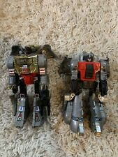 Transformers G1 Dinobots Lot Grimlock Sludge