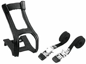 Diamondback 66-32-202 Bicycle Toe Clip and Strap Set Large/X-Large - Black