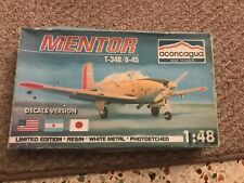 T34 B /B-45 Mentor 1/48 resin kit from Aconcagua rare and hard to faind