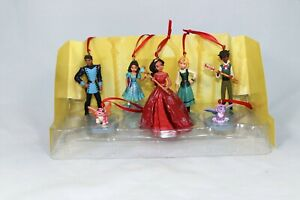 Disney Elena of Avalor Princess 7pc Christmas Ornament Figure Set Mingo Estrella