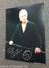 David Carradine-Kung Fu-ORIGINAL AUTOGRAPHE sur photo-SIGNED PHOTO -