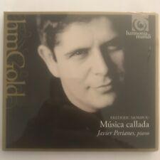 Frederic Mompou musica callada cd 29 titres neuf sous blister