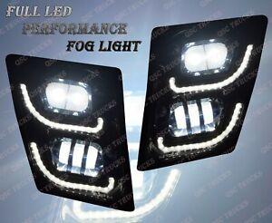 QSC Volvo Vn Vnl Truck 03-15 Full LED Performance Fog Light Lamp Left Right Pair