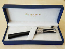 Rare Stylo Plume Fountain Pen Waterman Serenite noir black NOS with defect