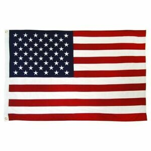 2x3 Ft American Flag w/ Grommets - United States Flag - US Flag - USA America