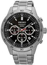 Seiko SKS519P1 Neo Sport Cronografo 1/10 secondo 100M da uomo 2 ANNO DI GUAR RRP £ 250.