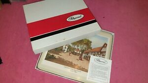 Vintage Pimpernel 6 De Luxe Finish Place Mats English Villages Good condition